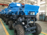 2T oil palm farm dumper tractor
