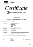 UKY Float Switch Semko Certificate