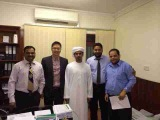 UAE PROJECT SIGINING CONTRACT