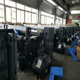 Cam shedding air jet loom are under installation & testing in our factory