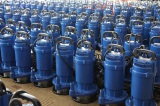 QDX submersible pump in workshop
