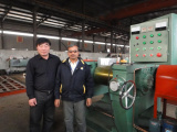 XK-550 Rubber Mixing Mill Machine Buyer from India