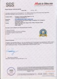 SGS Quality Certificate