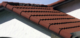 Bond roof tile house building