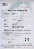 CE Certificate for The Strapping Machine