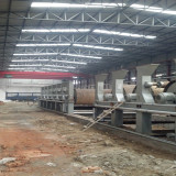 a View for a New Factory That Is Under Installation