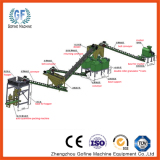 Dry powder fertilizer granulator equipment plant.