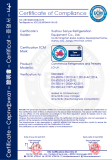 CE Certification of Compliance