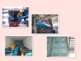 Kenya client like our glazed tile roll forming machine