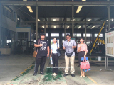 Qatari Clients Visited Our Factory For HF150T Water Well Drilling Rig