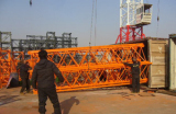 Minglong′s QTZ50 tower crane exporting to Thailand