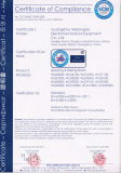 CE Certificate of Spray Booth