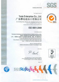 Quality Management System of ISO9001:2000