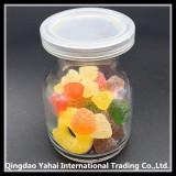 mini glass candy jar / pudding jar