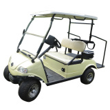 Golf Cart with Caddie Stand
