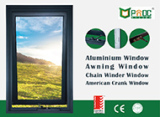 Hot Sale Aluminum Crank Window with AS2047 Certificate