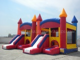 Commercial Inflatable Castle Slide