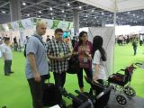 JBH electric wheelchair exhibition show