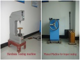 Manual Machine for impact testing
