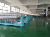 Finished machines in warehouse
