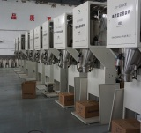 bagging machine in production
