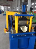semicircle water gutter roll forming machine