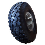 10 inch 3.00-4 pneumatic inflatable rubber wheel