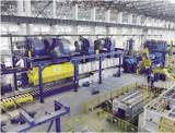 15000 Ton Extruding machine