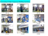 Processing of High frequency welding machine