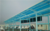 Canopy for power plant in Taishan city, Guangdong