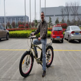 Electric Bike Client From Spain