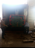 650t press with Rexroth pump to Argentina