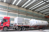 Cryogenic Tank and Skid-Mounted Loading
