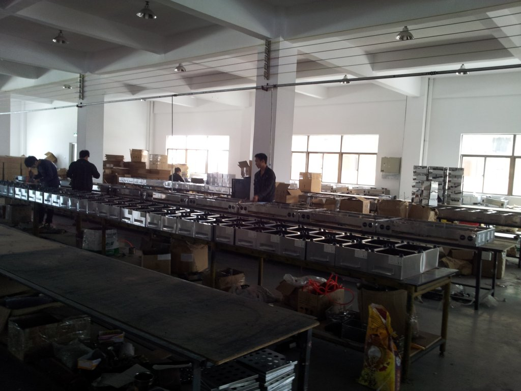Product Room of Fryer