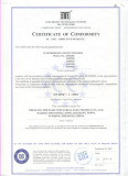 Terminal Junction Boxes CE Certificate