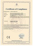 Certificate LED Candle light CE LVD