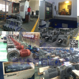 MTJ series helical bevel gear motor production