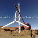 5 sets 10KW wind turbine installed in Tibet,China.