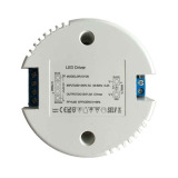 Round Triac Dimmable 20W LED Driver for LED Light