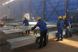hot-dipped galvanized workshop