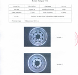 4X4 Steel Wheel 15X10 testing report