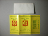 69x39mm size smoking rolling paper with gum