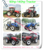 90hp to140hp Farm wheel Tractor