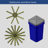 Distributors and Brine Tanks