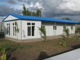Project: Congo Prefabricated Houses