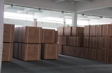 Goods in warehouse waiting for delivery