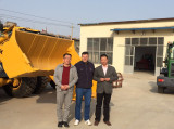 Romania customer visit our factory