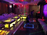 Interactive dance floor used in KTV