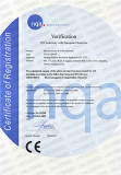 CE Certificate of Ball up vacuum B