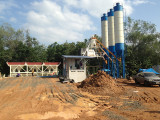 HZS50 Full Automatic Concrete Batching Plant in Thailand